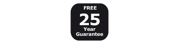 GRATIS 25 jaar garantie