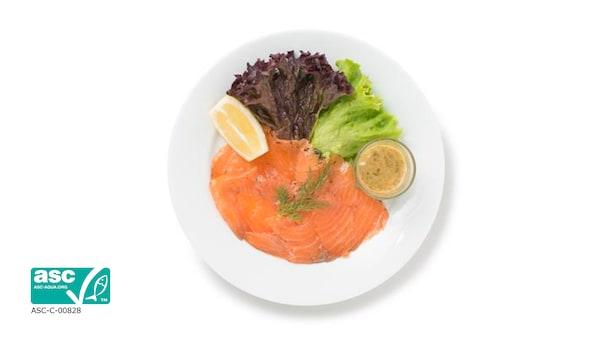 Gravad Salmon