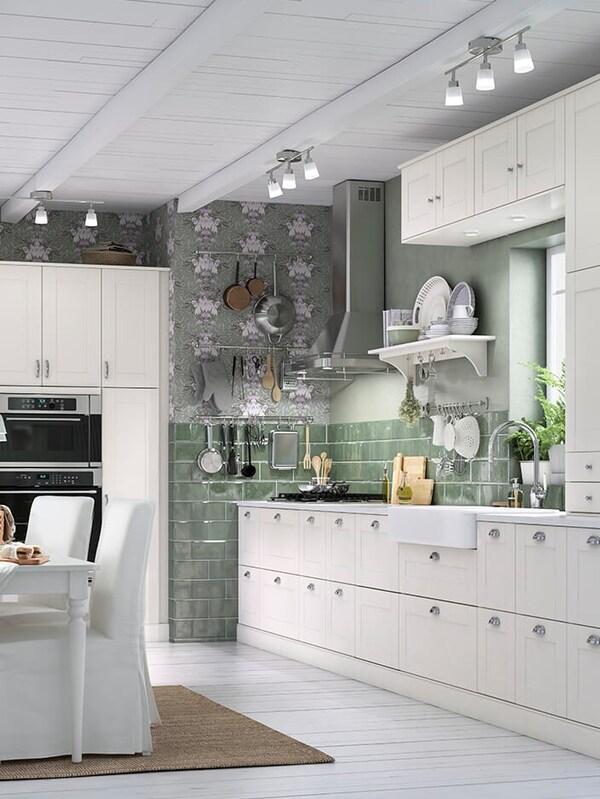 GRIMSLÖV off-white kitchen