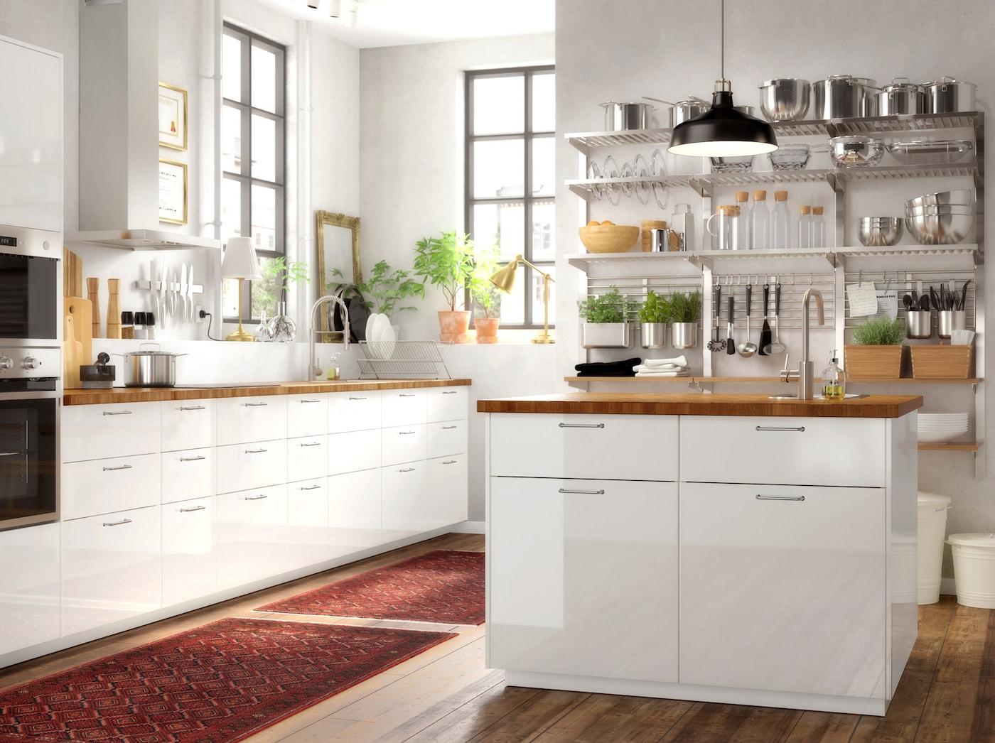 Stilvolle Küche Einrichtung & Accessoires IKEA