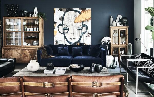 Ikea Woonkamer Zitbanken En Fauteuils Textiel.Rondleiding In Een Gezinswoning In Noorwegen Ikea