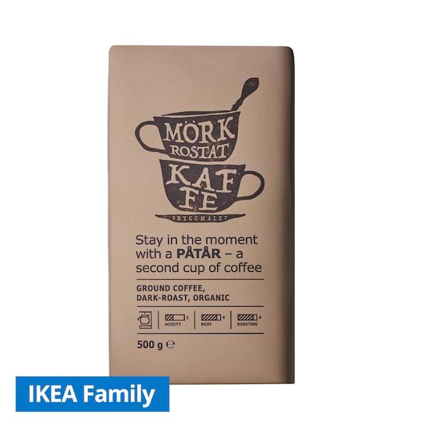 Ground coffee dark roast, 500g