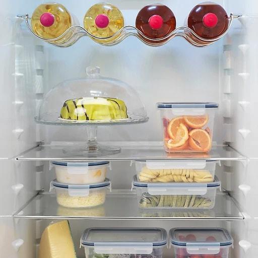 Guarda alimentos en táper y botes de cristal herméticos.