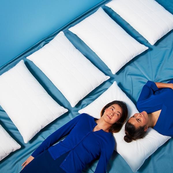 Guida alla scelta di materasso, piumino e cuscino.