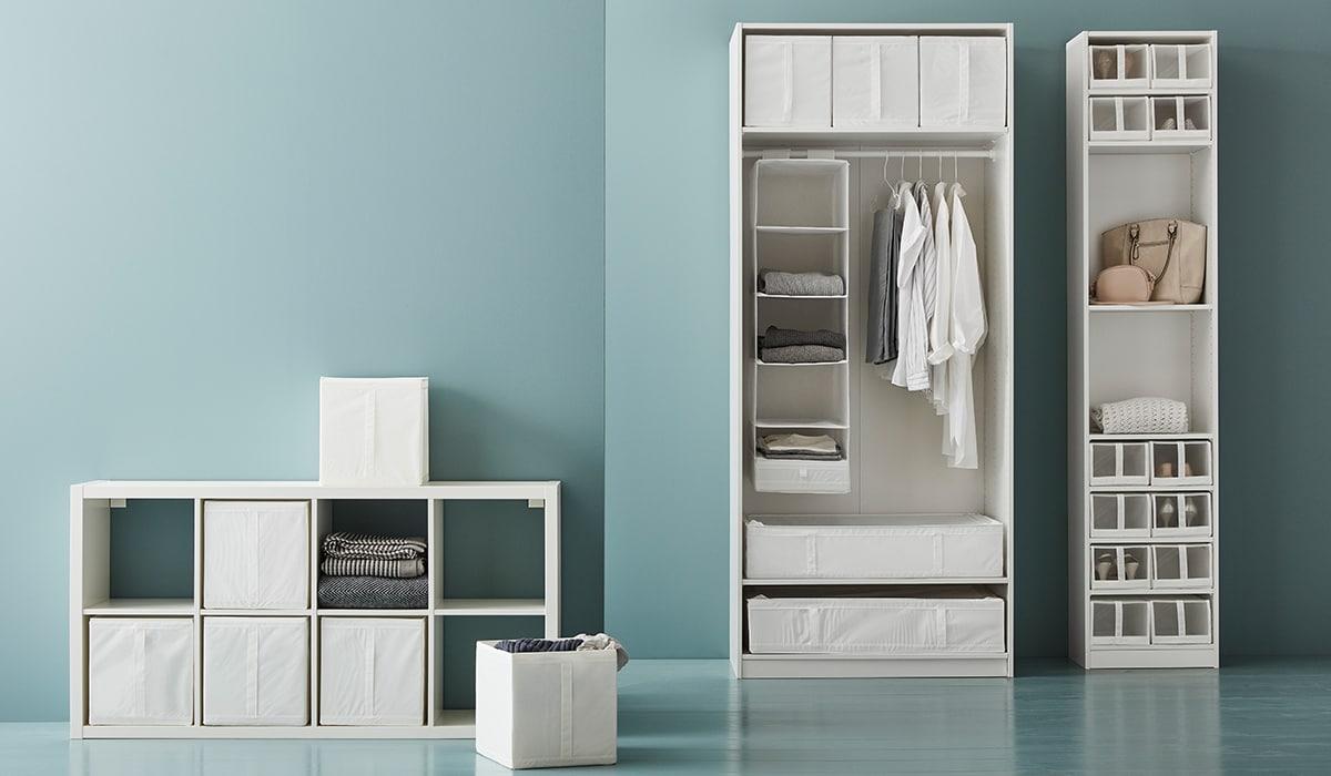 Guide IKEA: une armoire mieux rangée
