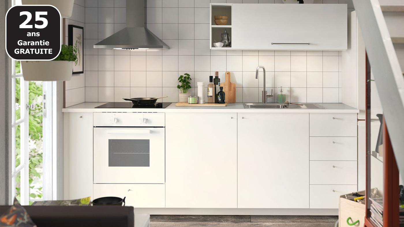 Page Finitions Cuisine Haggeby Blanc Ikea