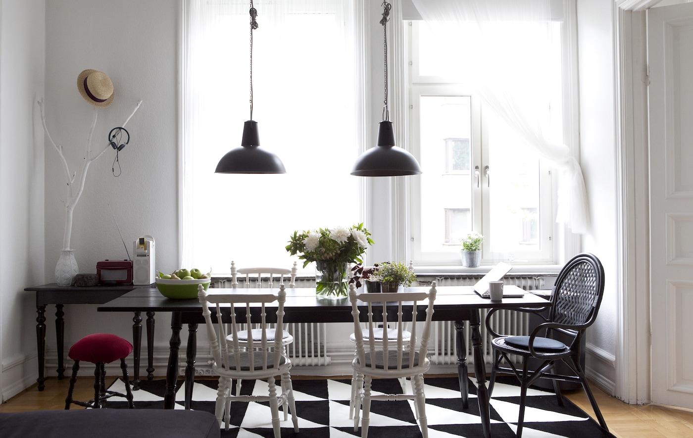 zuhause arbeiten und wohnen ikea. Black Bedroom Furniture Sets. Home Design Ideas