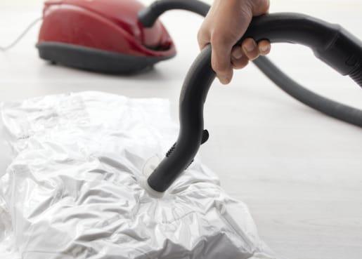 HAJDEBY vacuum-sealed bag