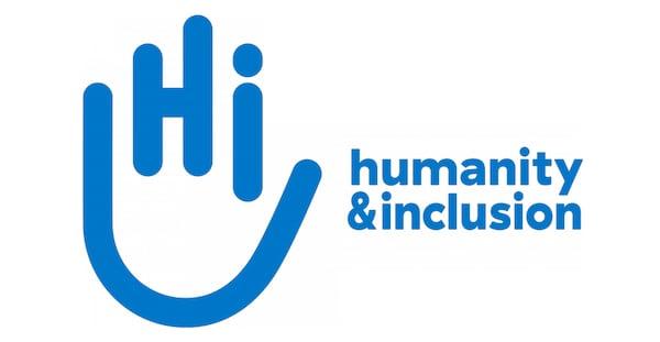 Handicap International logo.