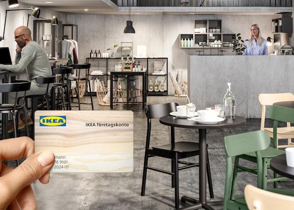 Handla som företag på IKEA varuhus, telefon och på IKEA.se.