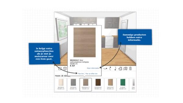 Handleiding keukenplanner kiezen stijl keukendeurtjes, werkbladen, meubels