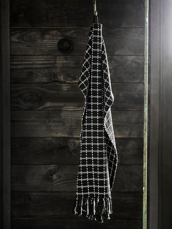 HANTVERK ХАНТВЕРК рушник для рук, що звисає з гачка. Сплетений вручну вправними майстринями в Індії.