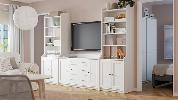 HAUGA living room series.
