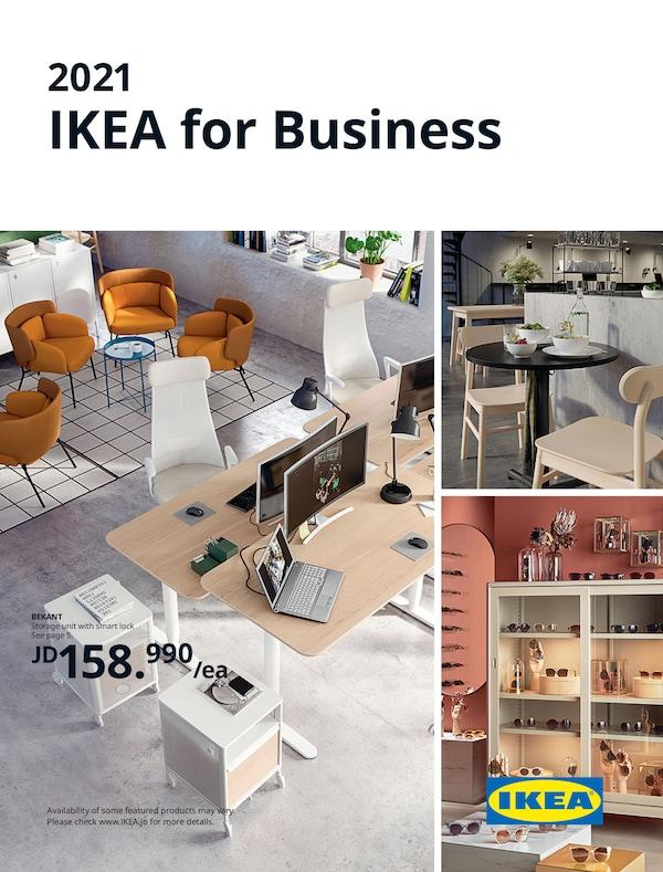 he cover of an IKEA Business brochure