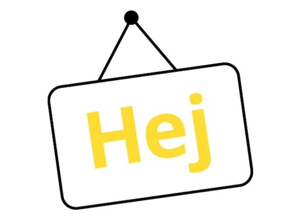 Hej sign