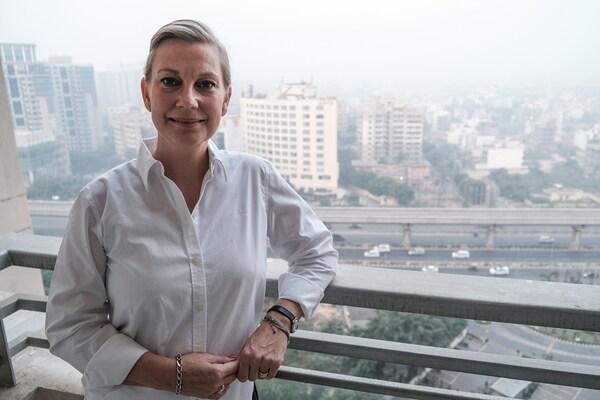 Helene Davidssonen argazkia, Hegoaldeko Asiako IKEA-ko Purchasing & Logistics departamentuko jasangarritasun zuzendaria.