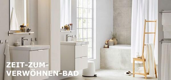 Badmobel Badezimmer Aufbewahrung Gunstig Kaufen Ikea
