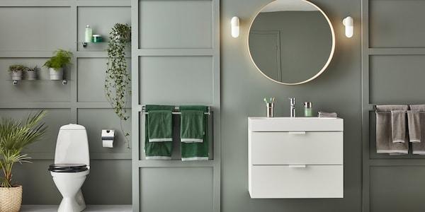 Badezimmermöbel set ikea