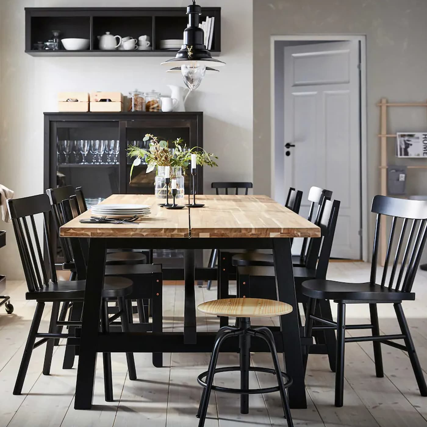 In Diesem Esszimmer Kommt Man Gern Zusammen Ikea Osterreich