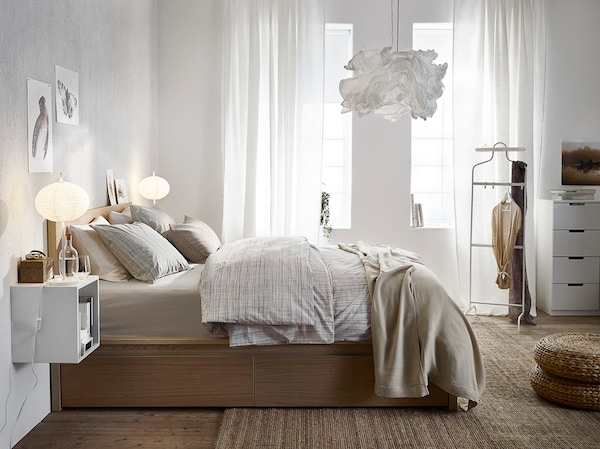 Elegantes Schlafzimmer für schöne Träume - IKEA