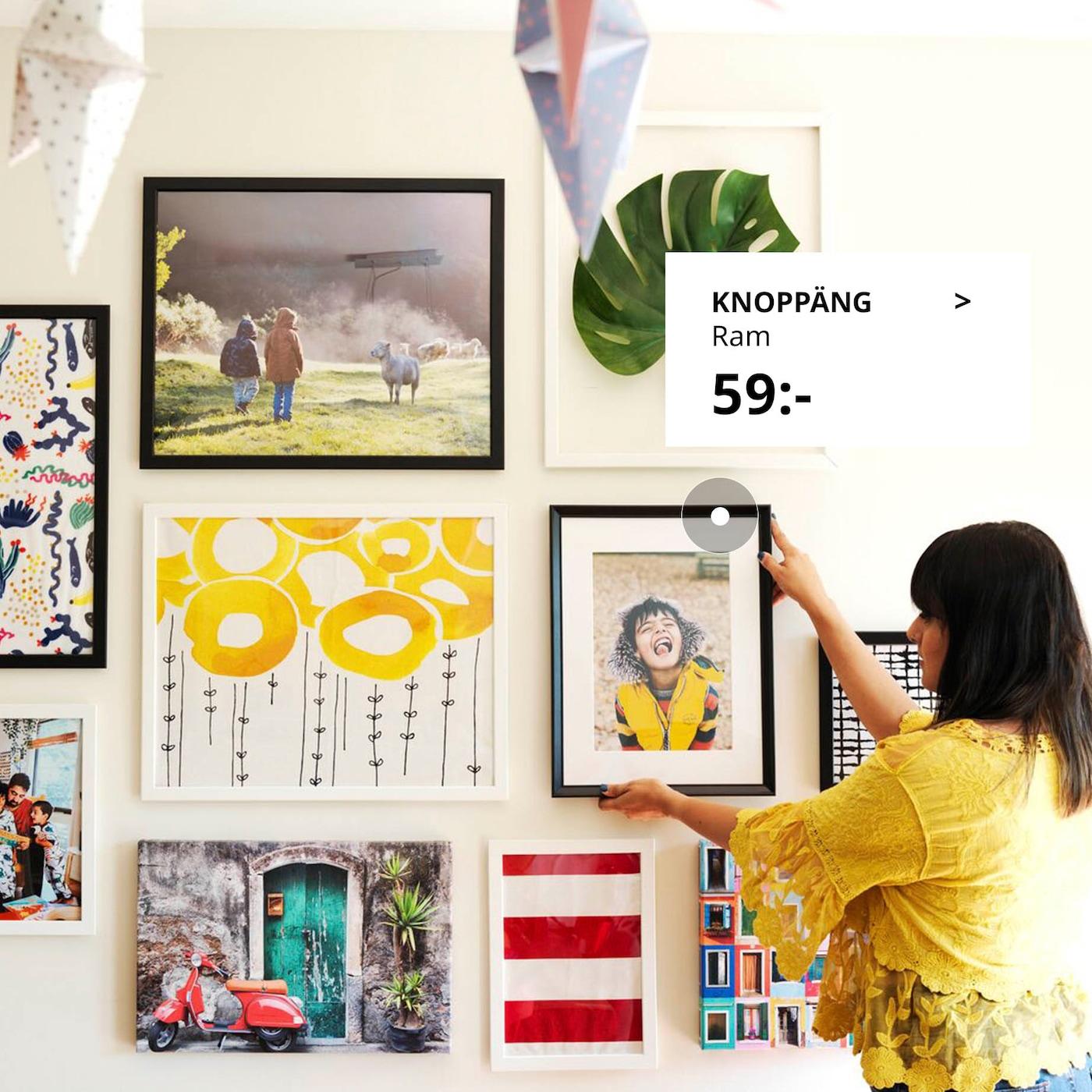 Inredning och dekoration för ditt hem IKEA