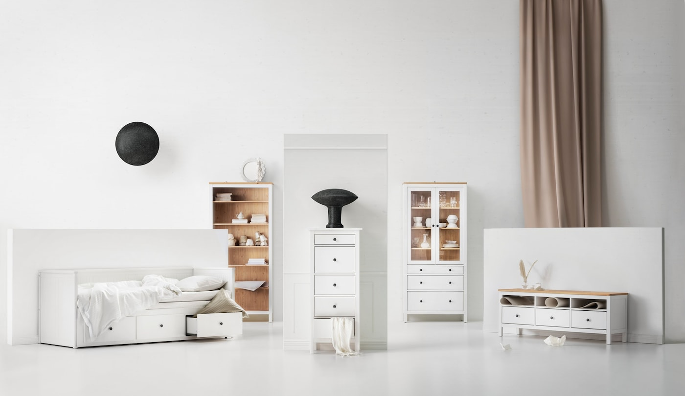 hemnes serie f r dein zuhause ikea. Black Bedroom Furniture Sets. Home Design Ideas