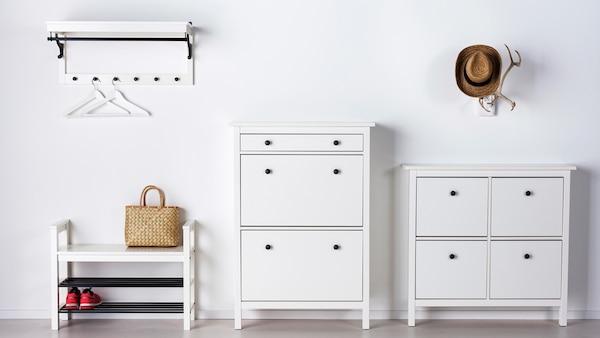HEMNES hallway series white.