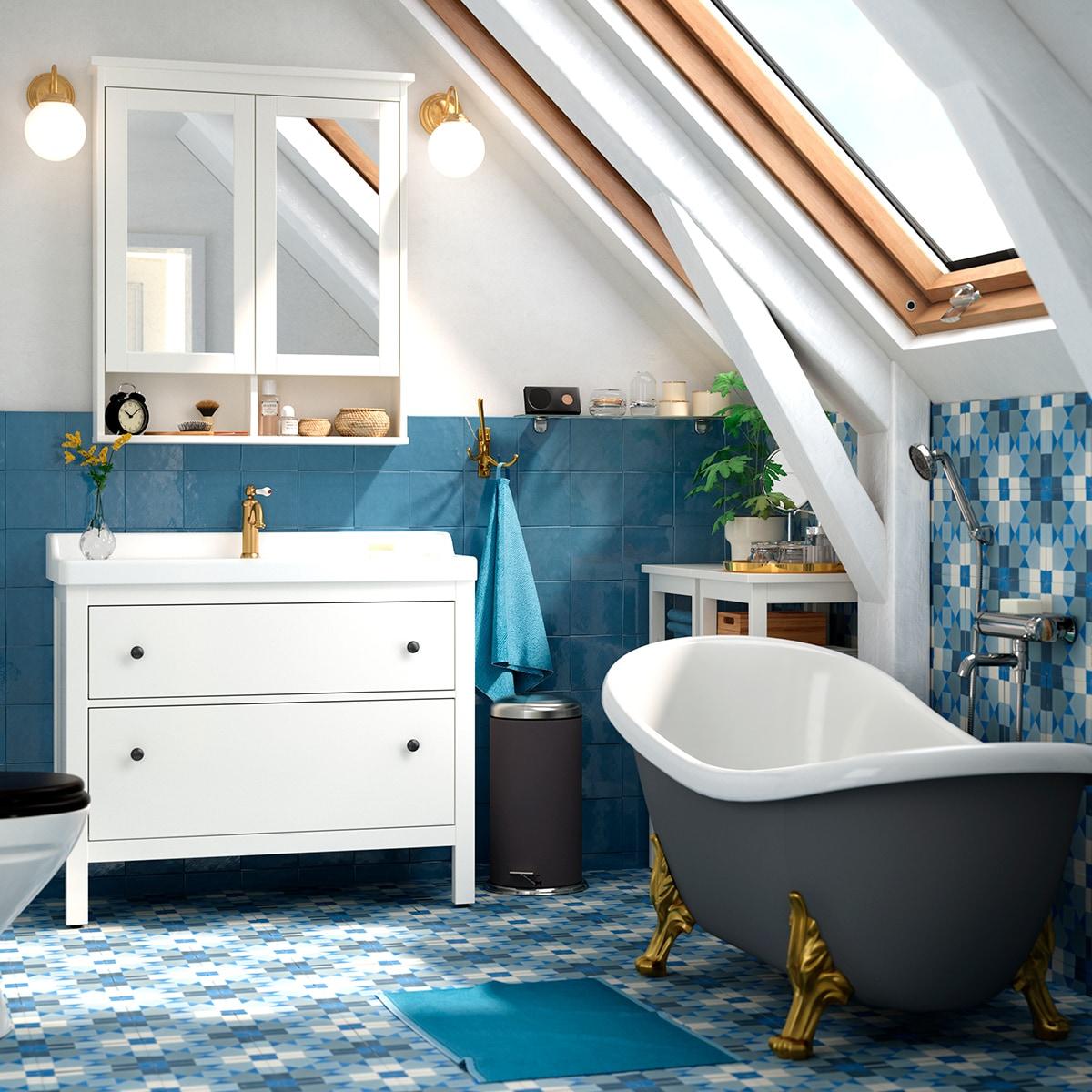 Einrichtungsideen & Inspirationen für dein Badezimmer - IKEA Schweiz