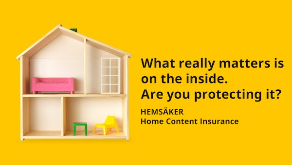 HEMSÄKER Home Content Insurance