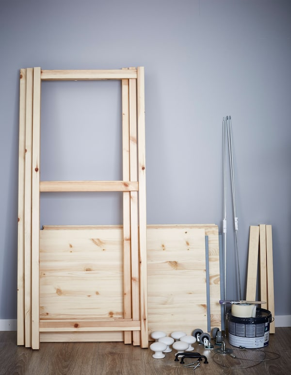 Here's what you need to customise your IVAR shelf.