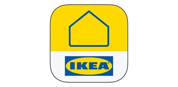 Het IKEA Home Smart-logo van de IKEA Home Smart-app.