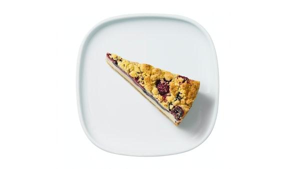Himbeer-Blaubeer Quarkkuchen