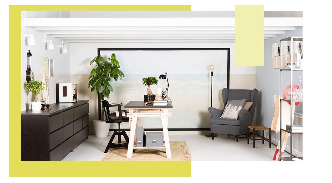 Hobbykamer - hobbyruimte - werkplek - tips - IKEA - wooninspiratie