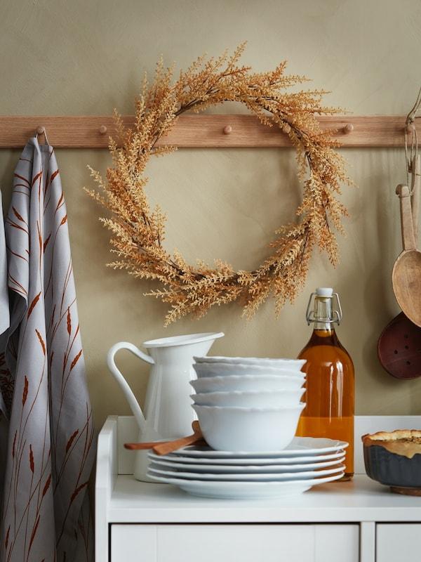 HÖSTKVÄLL art wreath