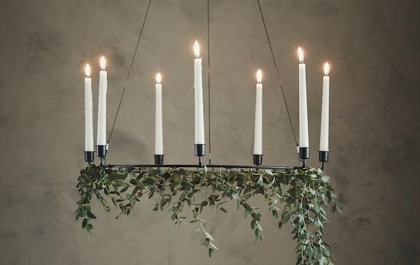 Ikea Weihnachten.Weihnachten Mit Pflanzen Dekorieren Ikea