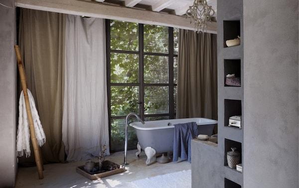 Gemütliches Badezimmer einrichten: so geht\'s - IKEA