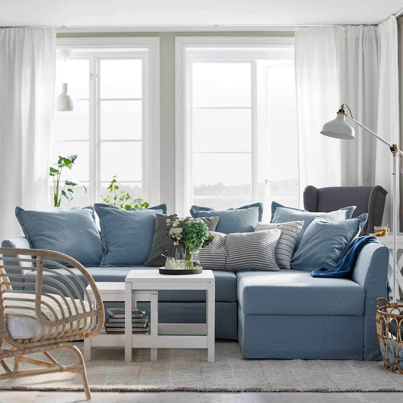 Mobili Bassi Ikea Soggiorno furnishing ideas & inspiration for your living room - ikea