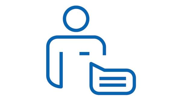 Home furnishing advice service graphic symbol