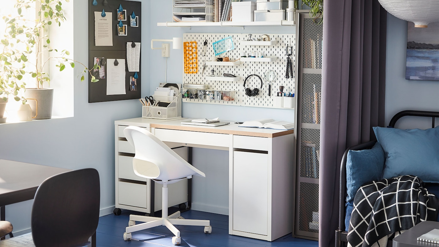 Office Chair Study Table Workspace Singapore Ikea