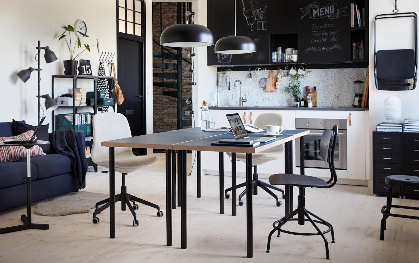 home office, LINNMON/ADILS