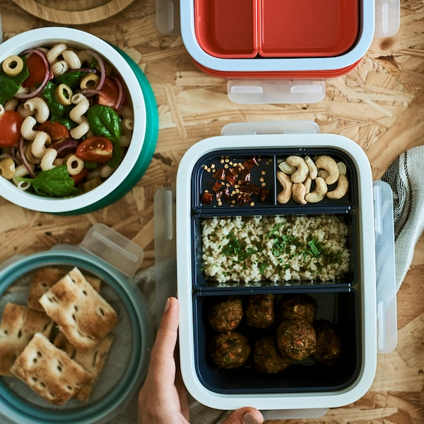 Home visit: how to pack a healthier lunchbox.