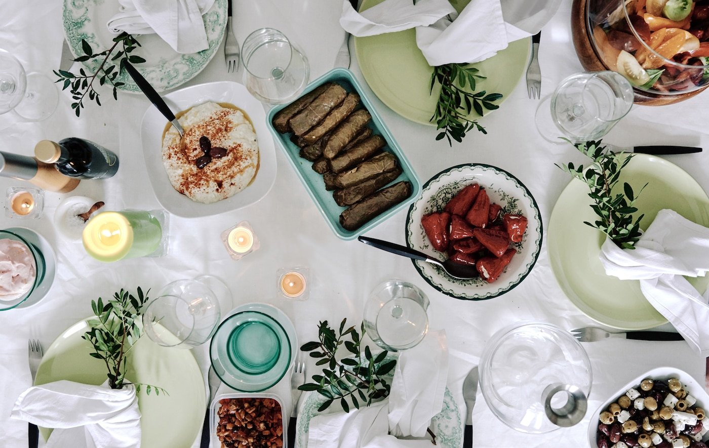Host a relaxed supper club at home