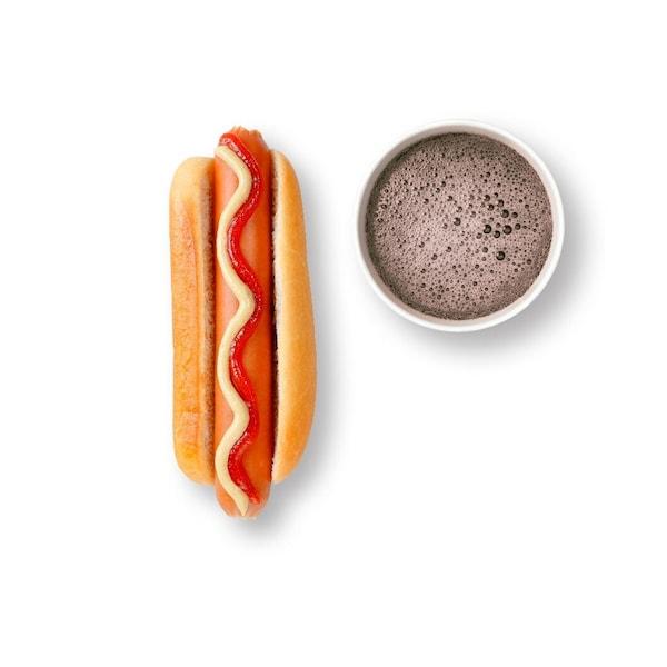 Hot Dog ja juoma