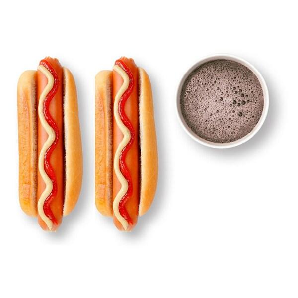 Hot Dog x 2 ja juoma