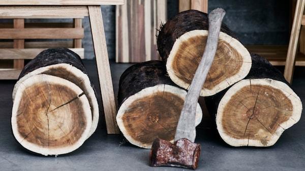 hout materiaal duurzaam ikea