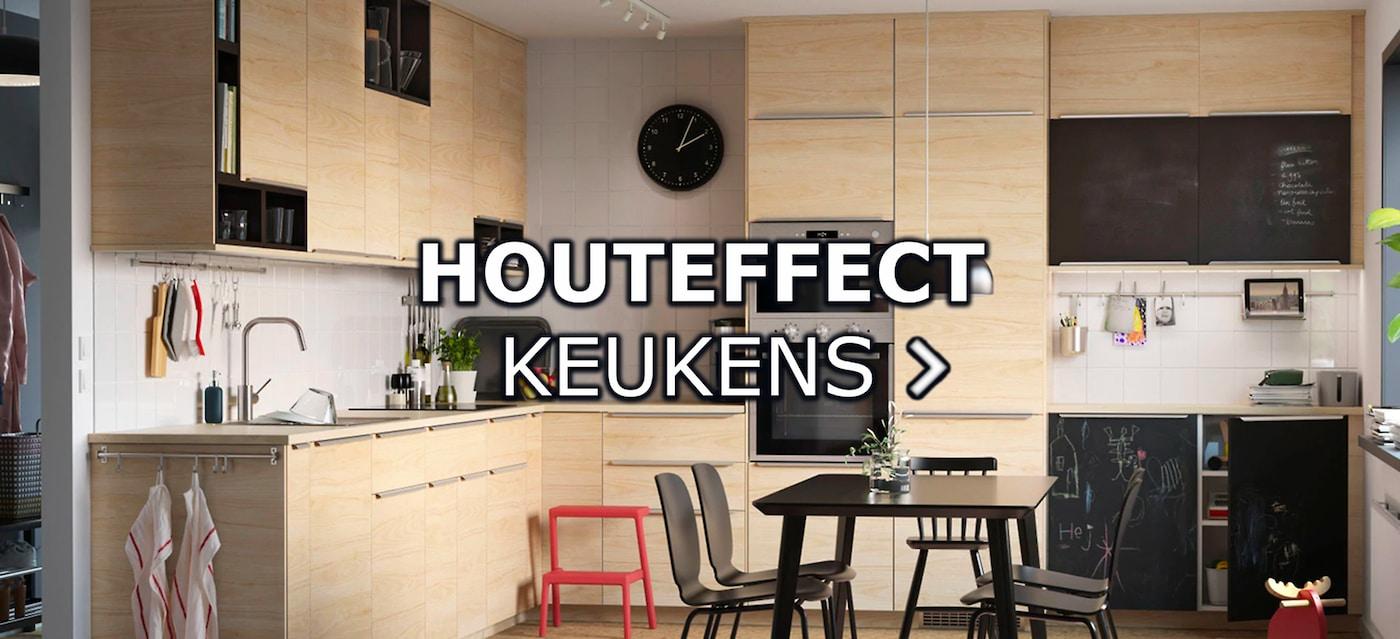 Houteffect Keukens Ikea