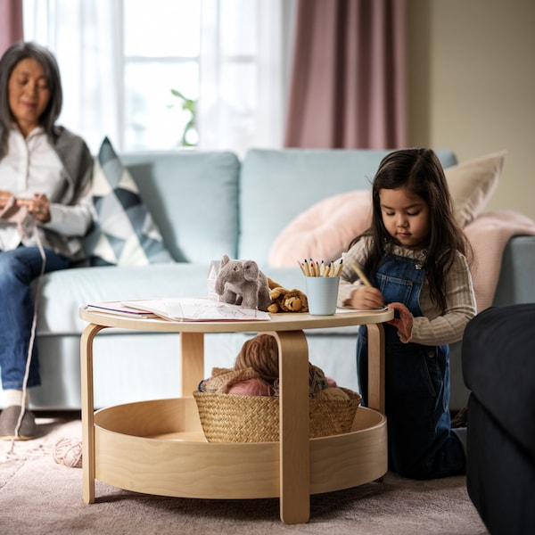 How to create a living room that works for all ages.