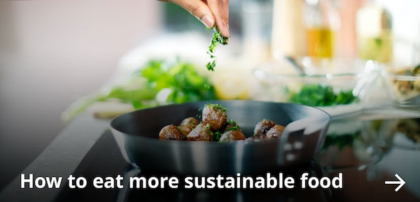How to eat more sustainable food.