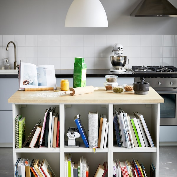 How to make a kitchen island for baking.