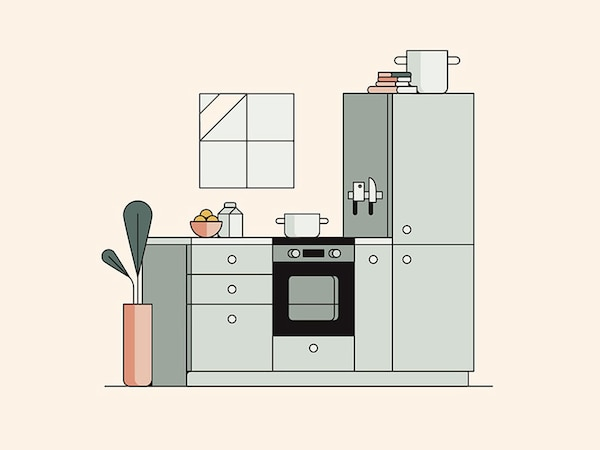 How to plan and buy IKEA kitchen.